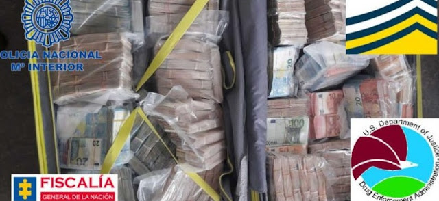 Albanian mafia is struck in Spain, 1 ton of cocaine and 1.5 mln euros caught by Madrid police