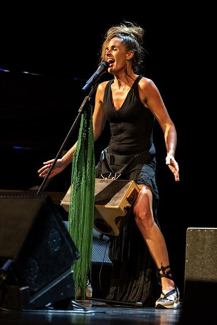 Maria La Mónica, Teatro Victoria Eugenia, Donostia, 25-jul-2021