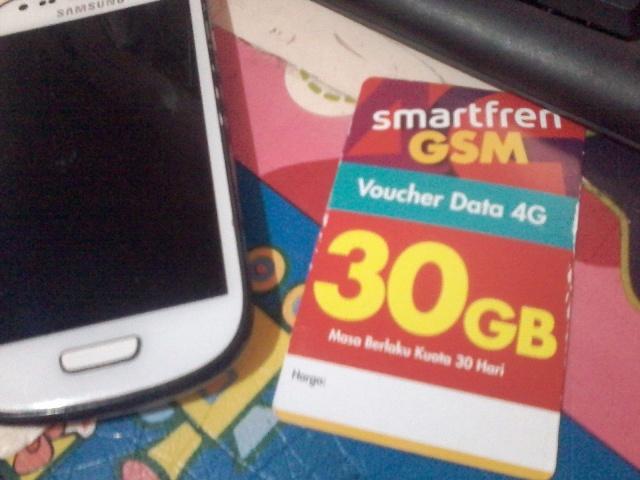 Paket Smartfren 30 GB