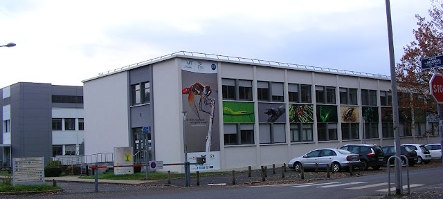 University of Tours Grandmont campus.