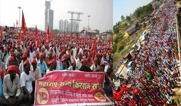 Maharashtra Kisan protest Long March