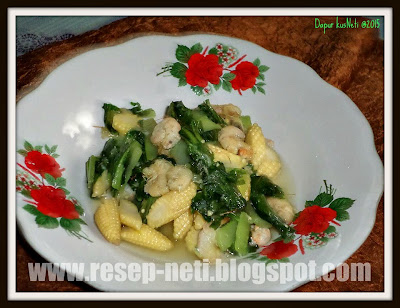 Resep tumis bokchoy sederhana di dapur kusNeti @2015