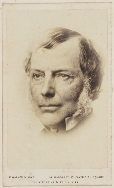 The Older George Grey Carte De Visite Photograph National Portrait Gallery London