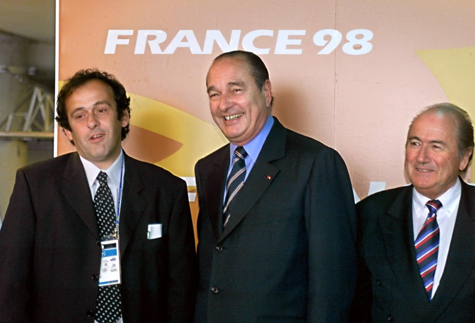 France 1998 World Cup final was FIXED ----- Michel Platini