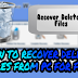 How to Recover Deleted Files from PC for Free