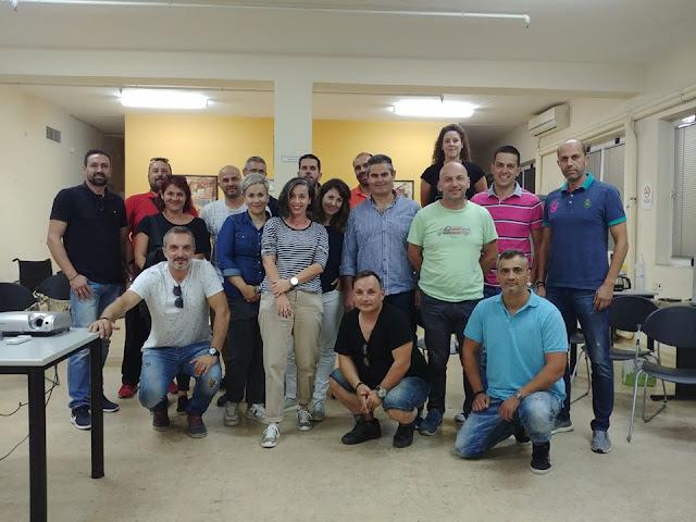 Συνάντηση εκπαιδευτών ομάδων πληθυσμού στο ΕΚΑΒ Ναυπλίου