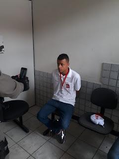 Jovens são presos em Guarabira acusados de tentarem aplicar golpes em mercadinho