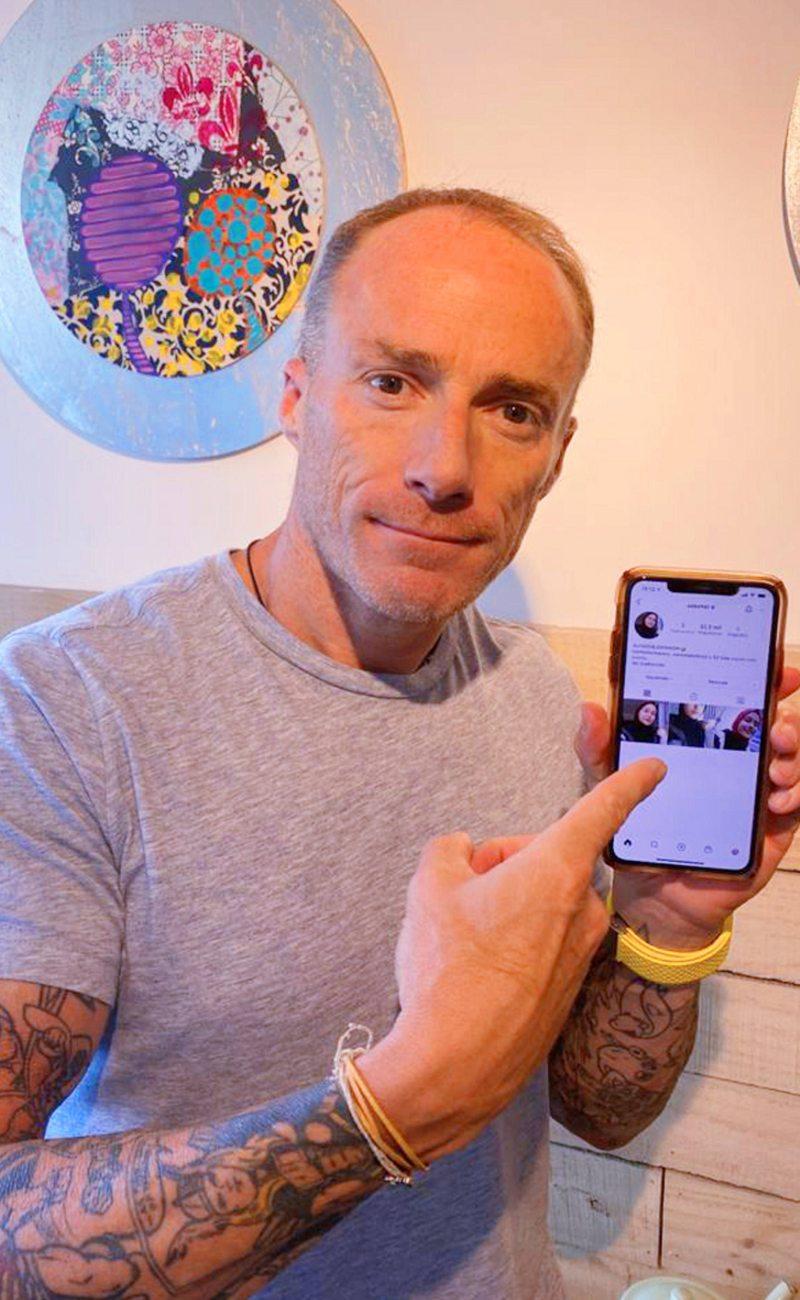 Sebastián Keitel detalla cómo le hackearon la cuenta de Instagram y la tarjeta de crédito en una seman
