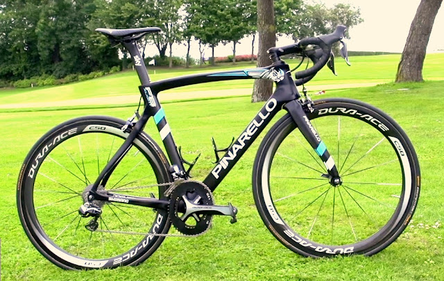 PINARELLO F8 X-LIGHT, una bici para un campeón... CHRIS FROOME