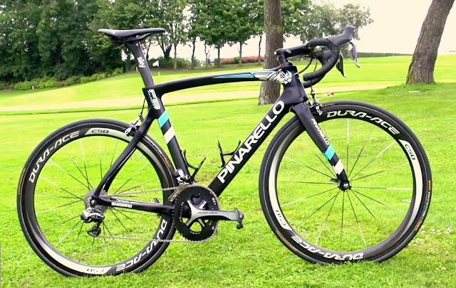 PINARELLO F8 X-LIGHT, una bici para un campeón... CHRIS FROOME