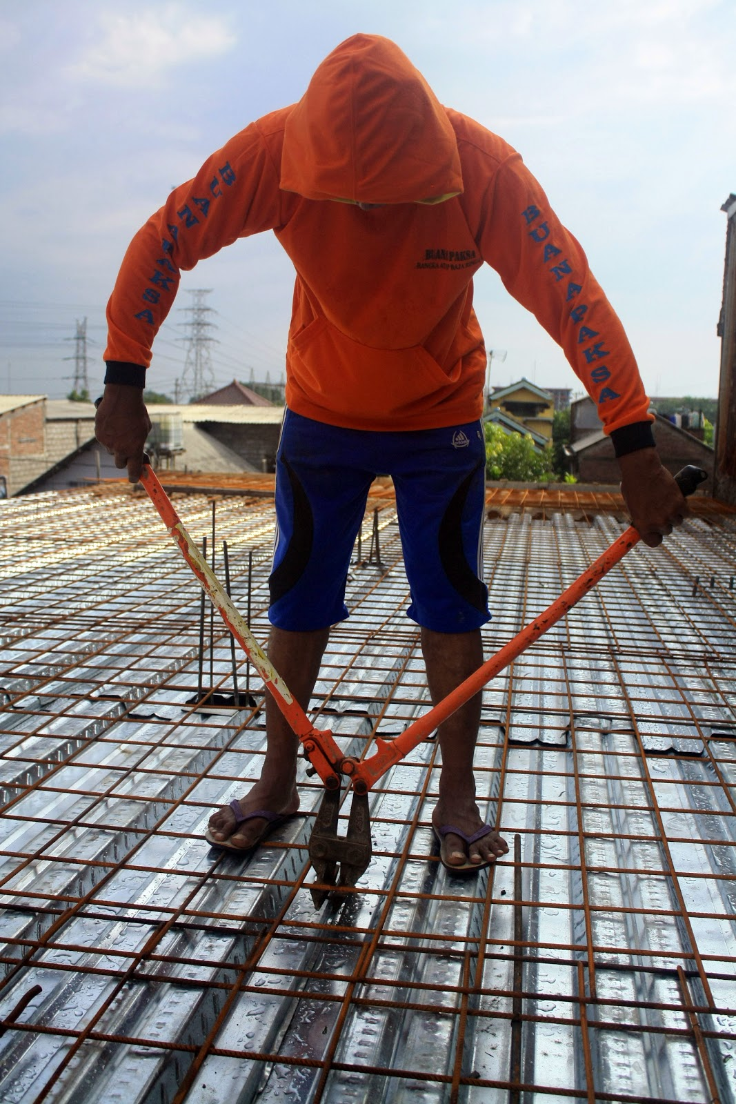 harga rangka atap baja ringan klaten cara cepat bangun rumah tingkat lantai 2 dengan murah ...