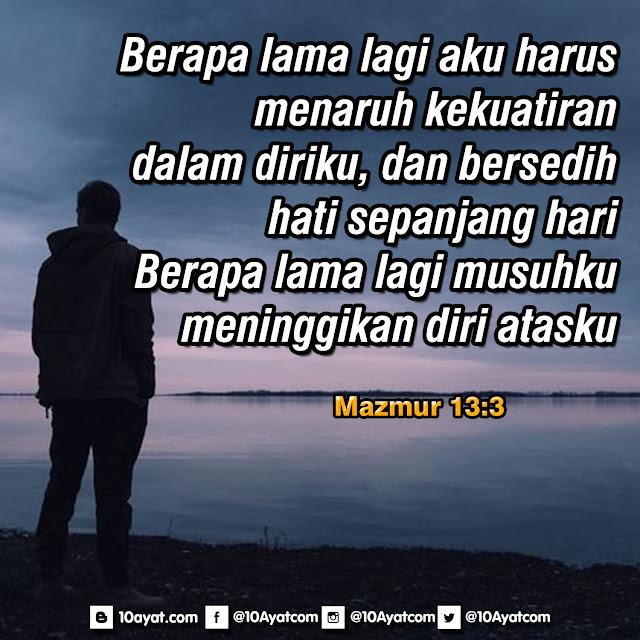 Mazmur 13:3