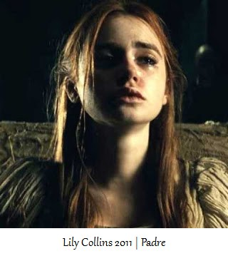 Lily Collins - Padre - 2011