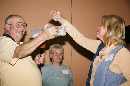 Picking a winning ticket at the 2006 satellite rally