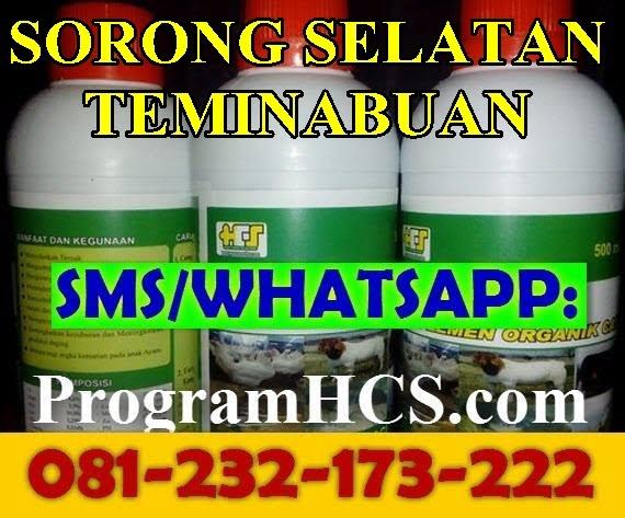 Jual SOC HCS Sorong Selatan Teminabuan