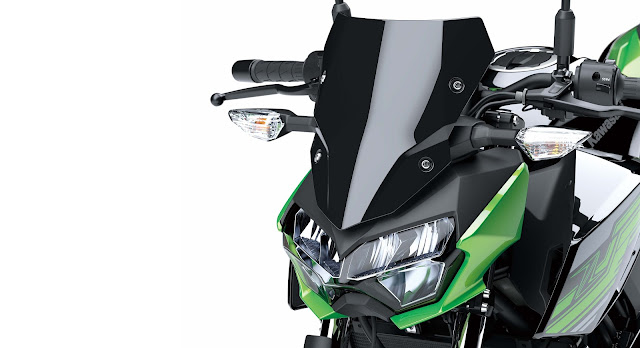 All New Kawasaki Z250 2019 headlights lampu