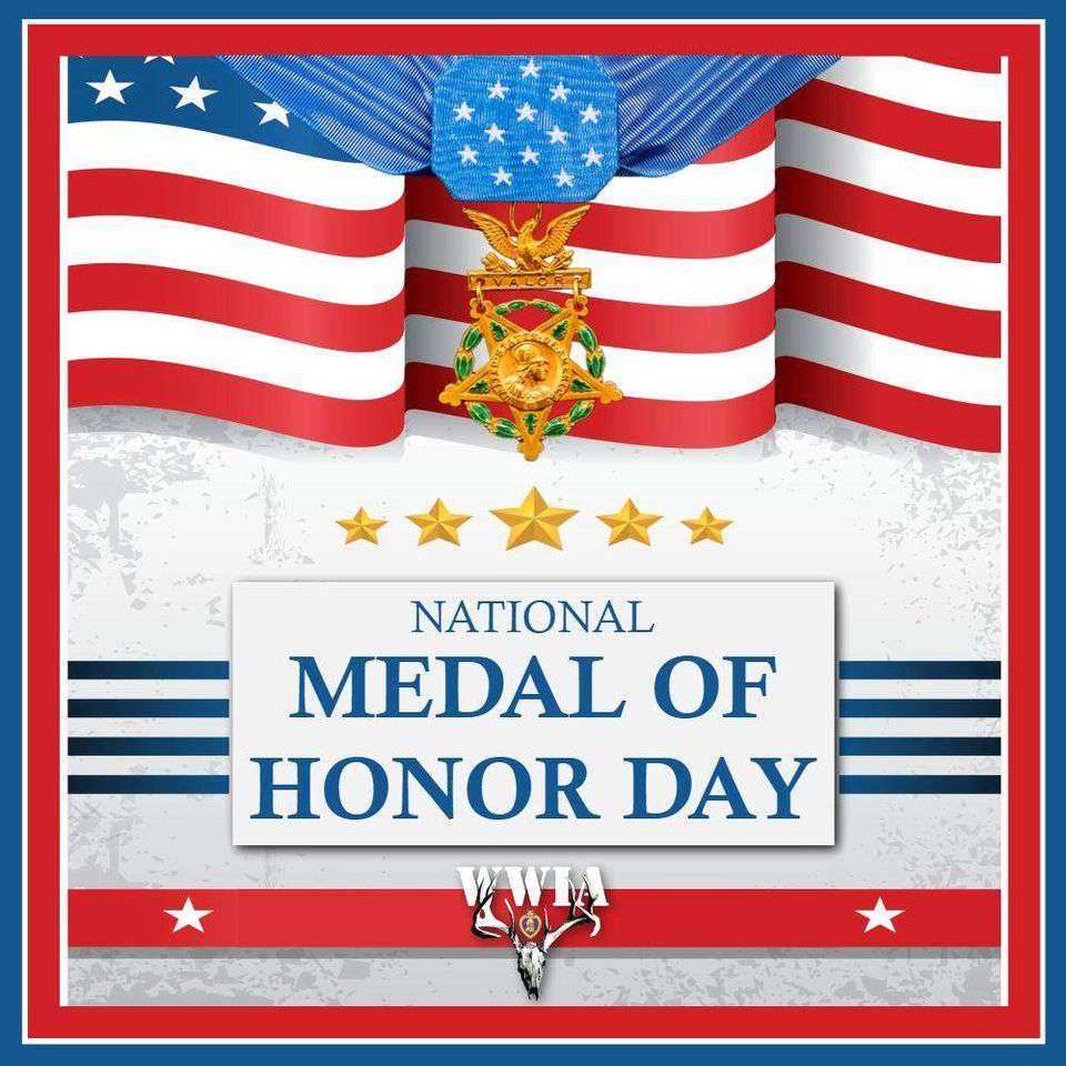 National Medal of Honor Day Wishes for Instagram
