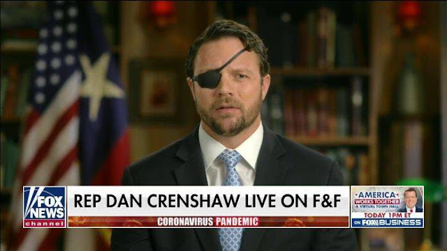 Crenshaw calls out 'so-called' judges 'drunk on power' after jailing of Texas salon owner