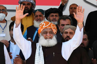 PPP and JUI-F downplay Fazl's absence from Larkana's event