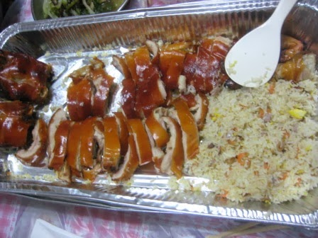 五號屋的部落: 有米豬+盤菜團年