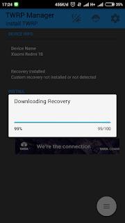 Cara Instal TWRP Xiaomi Redmi 1S Tanpa PC