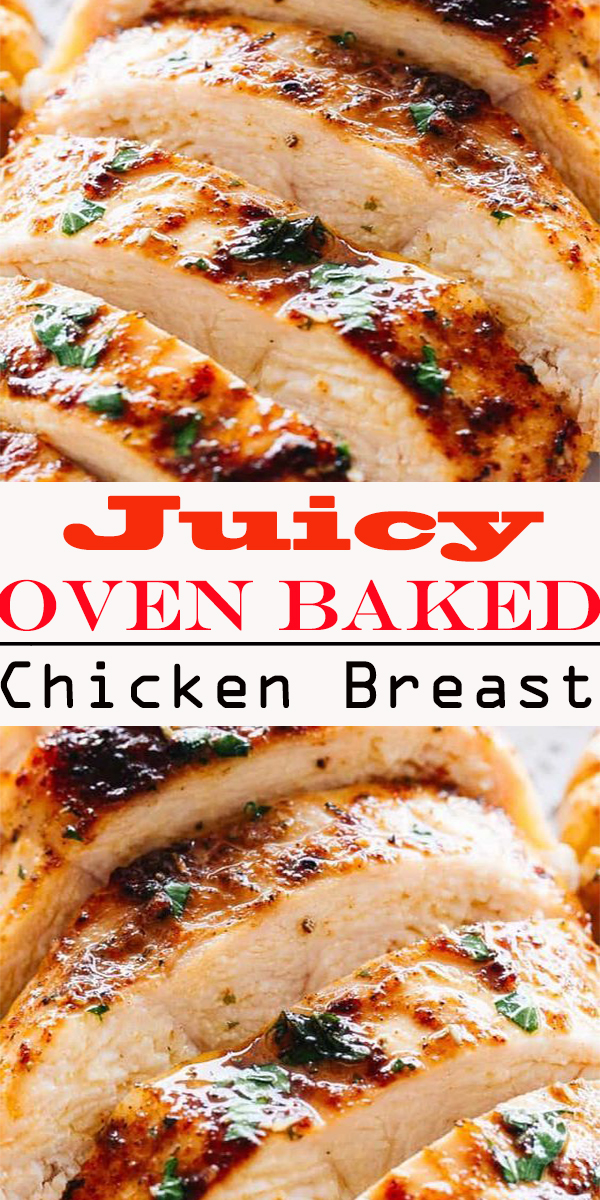 Juicy Oven Baked Chicken Breasts #Juicy #Oven #Baked #Chicken #Breasts #JuicyOvenBakedChickenBreasts
