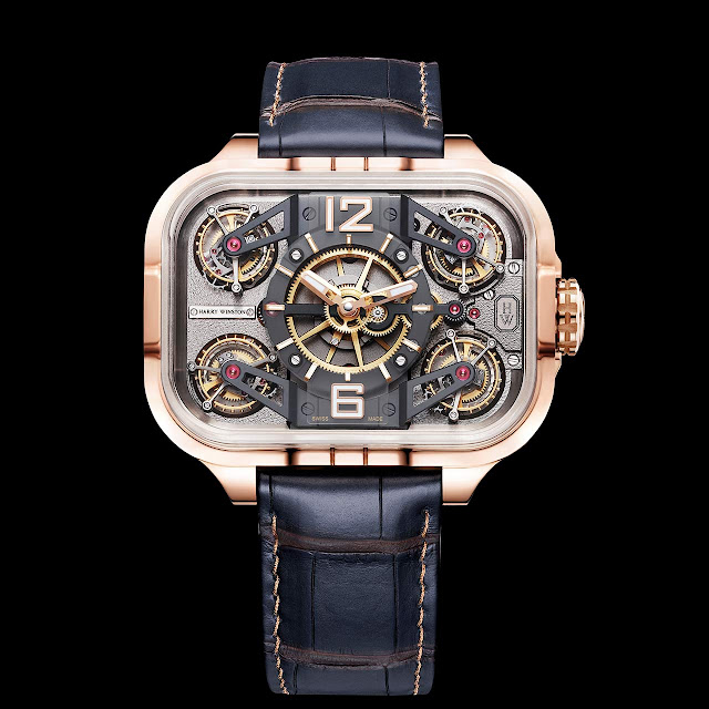 Harry Winston Histoire de Tourbillon 10 in rose gold