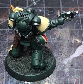 40K Blades of Vengeance Lieutenant WIP