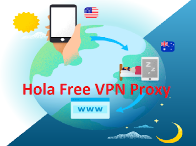 Open Blocked Site with Hola Free VPN Proxy