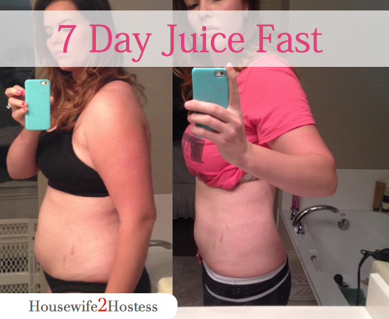 7 Day Juice Fast Results Housewife2hostess