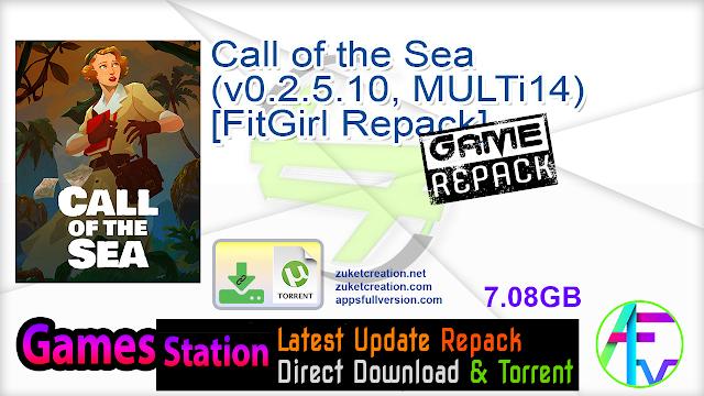 Call of the Sea (v0.2.5.10, MULTi14) [FitGirl Repack]