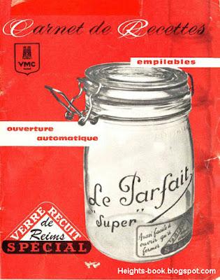 Télécharger Livre Gratuit Carnet de recettes bocaux Le PARFAIT pdf