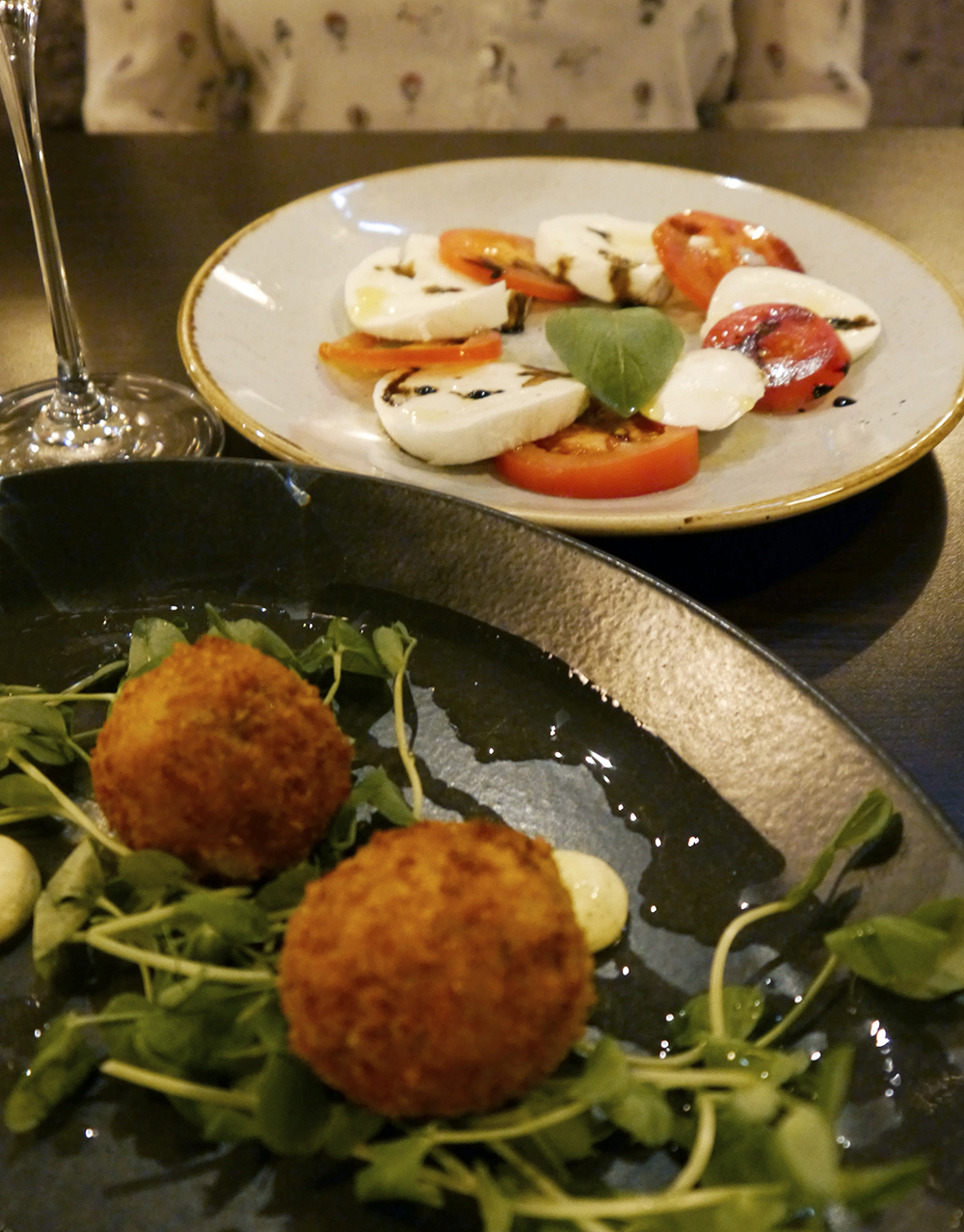 Review of Italian Grill restaurant in Dundee starters