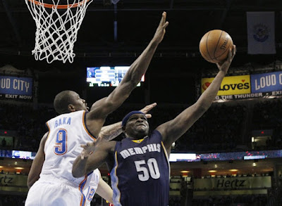Memphis Grizzlies rivalry with Oklahoma City Thunder
