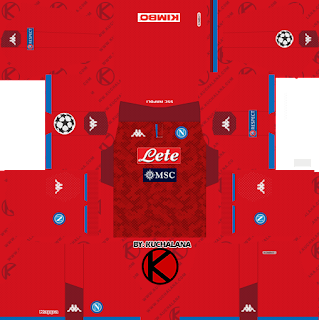 SSC Napoli 2019/2020 Kit - Dream League Soccer Kits