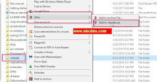 Cara Buat File ZIP Di Windows 10