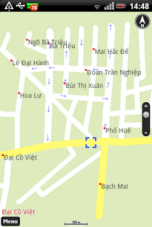chay java trên android