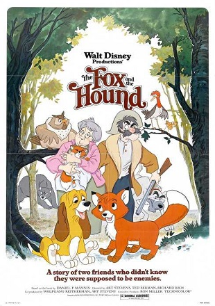 The Fox And The Hound 1981 BRRip 720p Dual Audio In Hindi English ESub