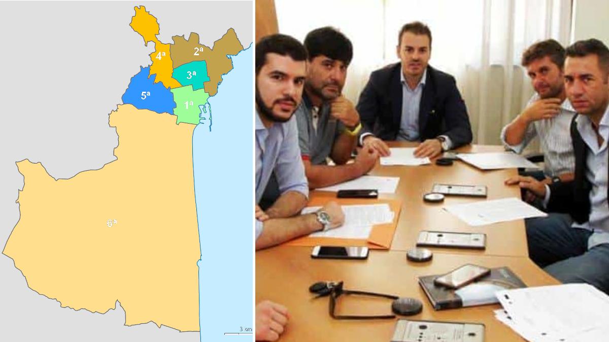 Presidenti municipi Catania richiesta fondi al Comune