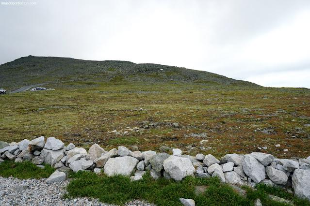 Zona Alpina en Mount Washington, New Hampshire