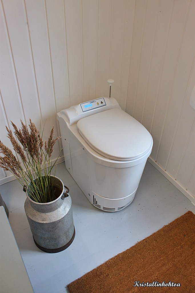 Polttava wc