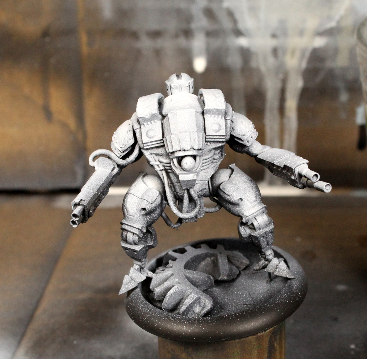 Painting miniatures color master primer - Once Your Miniature Is Assembled And Cleaned Prime Your Miniature Using Black Primer