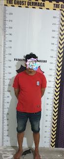 Satreskrim Polres Pelabuhan Makassar kembali mengamankan Pelaku Pencurian