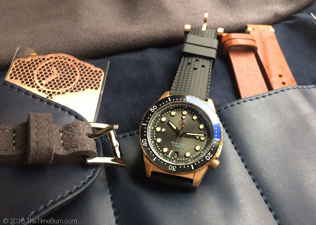 Zelos Mako bronze diver full kit
