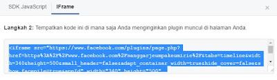 Cara Menampilkan Funs Page Facebook di Blog