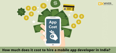 How much does it cost to hire a mobile app developer in India?