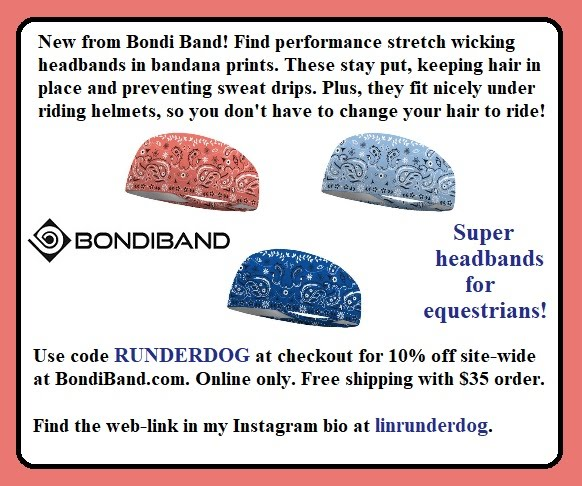 Bondi Band has BANDANA prints for equestrians!