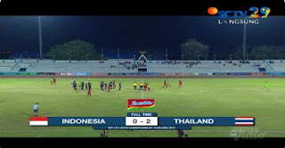 Indonesia vs Thailand 0-2 Semifinal Piala AFF U-15 Highlights