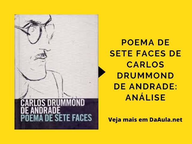 Poema de Sete Faces de Carlos Drummond de Andrade: Análise