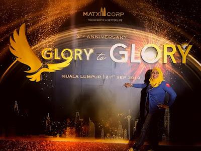 MATXI CORP: SAMBUTAN ULANG TAHUN KE-2 BERTEMAKAN 'GLORY TO GLORY'